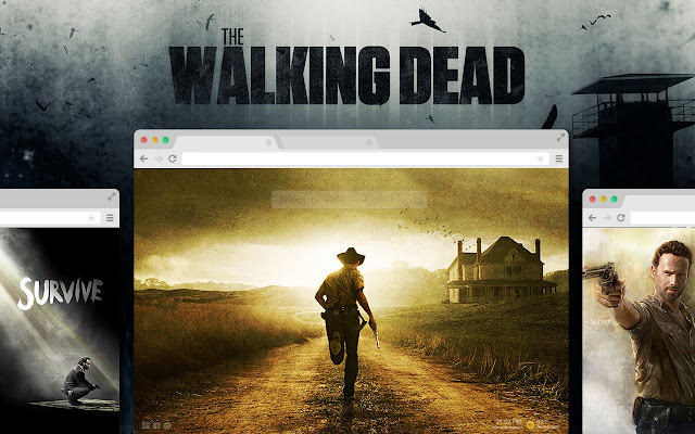 The Walking Dead Wallpapers New Tab - Chrome Web Store