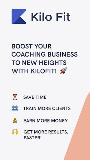Kilo Fit - coach & trainer app screenshot 1