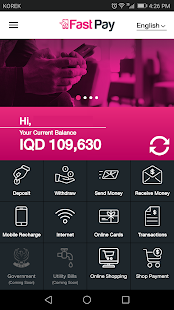 FastPay Wallet - náhled