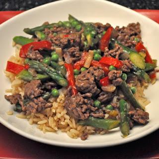 Stir-Fried Beef & Asparagus