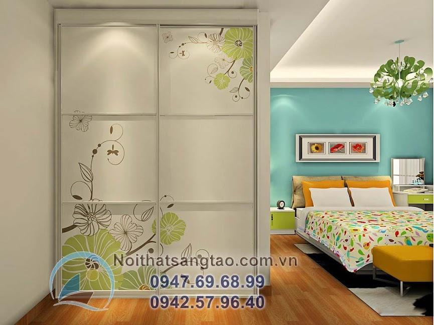thiết kế phòng ngủ ấn tượng