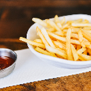 Chips and Tomato Sauce