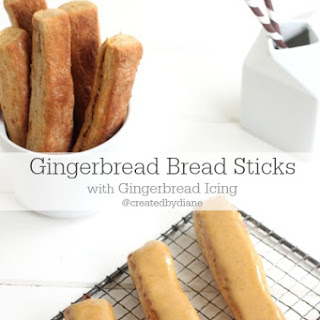Gingerbread Bread Sticks
