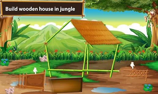 Jungle House Builder – Farmhouse Construction Sim - náhled
