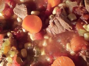 So good So easy Vegetable Beef Soup