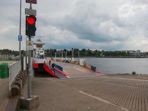 Photo: Met de pont naar de overkant