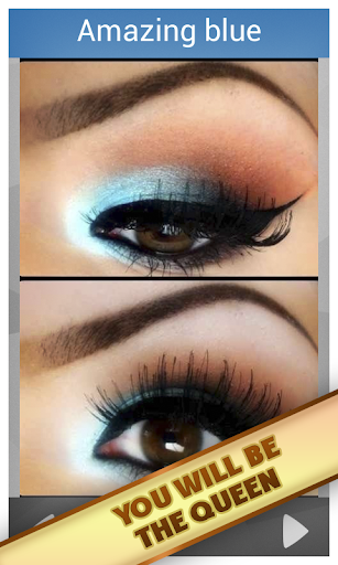 化妆的棕色眼睛 娛樂 App-愛順發玩APP