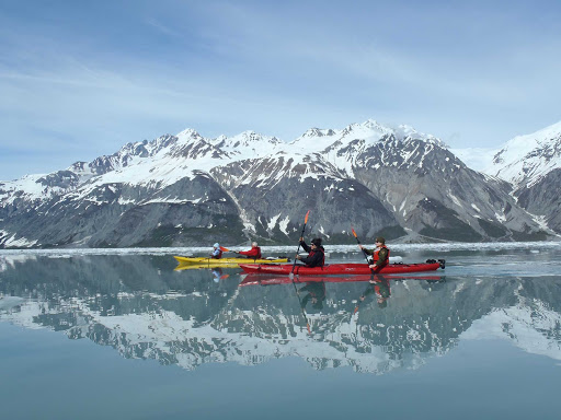 Uncruise-kayaking.jpg - Kayaking through the clear waters of Alaska on an UnCruise Adventures cruise.
