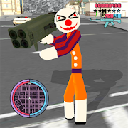 Clown Stickman Rope Hero Gangaster Vegas Crime