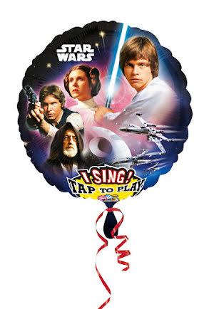 Folieballong Star Wars, sjungande