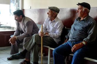Photo: Waiting for a bus, Kars, Turkey, 2011