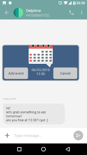 Text 2 Event - Date from text Screenshot