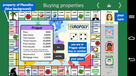 Europoly 1.0.4 screenshot 341056