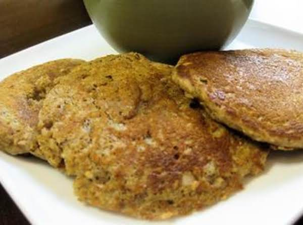 Nutty Wheat Pancakes