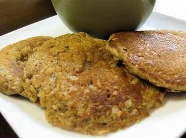 Nutty Wheat Pancakes Recipe