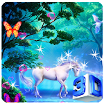 3D Unicorn Live Wallpapers Icon
