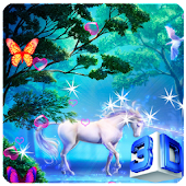 3D Unicorn Live Wallpapers