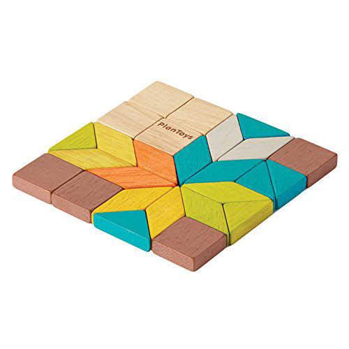 Contenido de PlanToys 4131 Mosaico