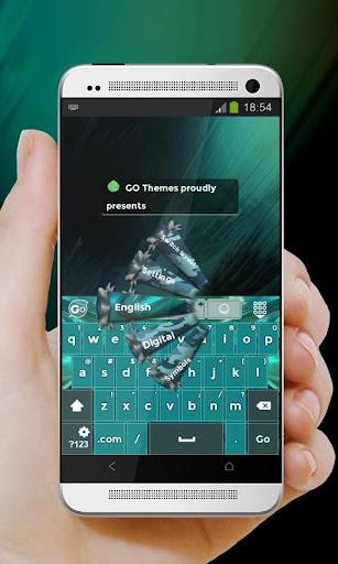 军绿色Jūn lǜsè GO Keyboard