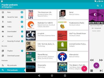 uPod Podcast Player Screenshot 13