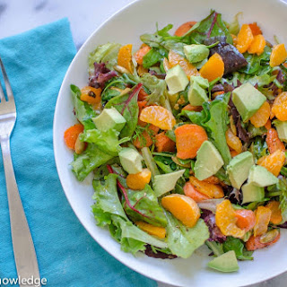Pepita Salad with Avocado & Orange