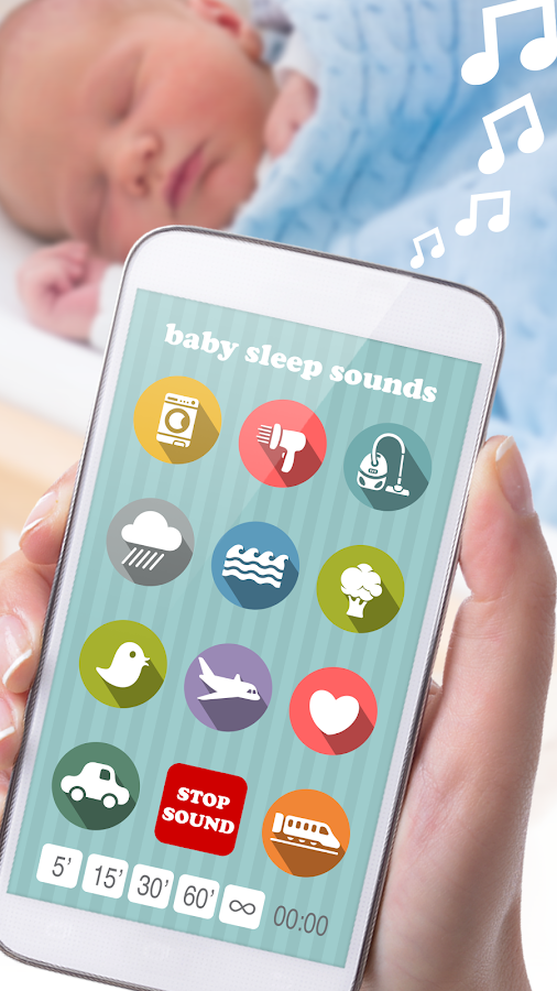 Baby Sleep Sounds – Screenshot