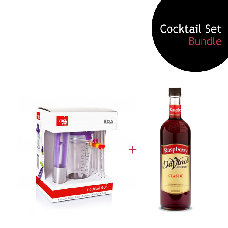[Bundle] Cocktail Set + Raspberry Syrup by ECIATTO GROUP SDN BHD