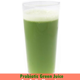 Probiotic Green Juice For Daily Cleansing.