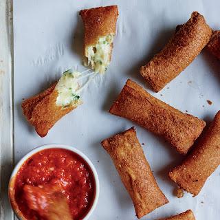 Crispy Cheese Sticks.