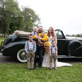 Blended Family by Kelly Alexander - Wedding Bride & Groom ( bride, groom, wedding photography, bride and groom, ceremony, wedding )