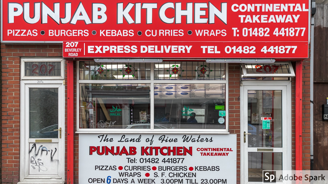 Punjab Kitchen Continental Takeaway Pizzas Kebabs