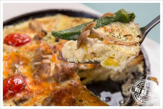 屏東WKitchen普羅旺斯蔬菜烤蛋