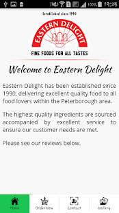 Eastern Delight Peterborough- screenshot thumbnail