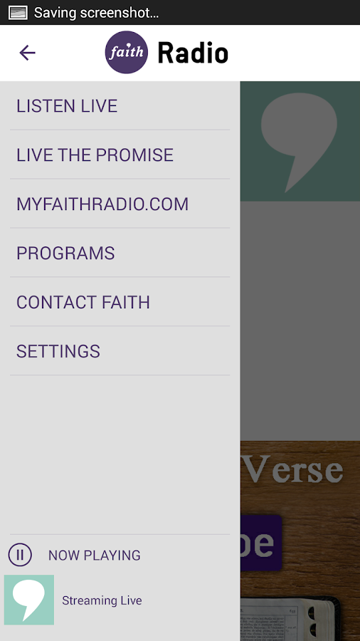 Faith Radio- screenshot
