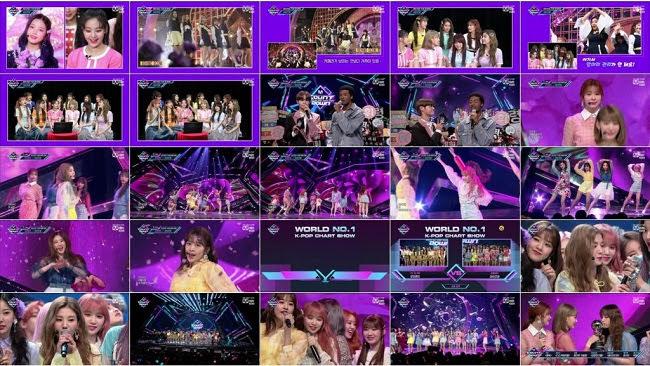 190411 (1080p) IZONE Part – Mnet M Countdown