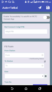 Auto+Tatkal: IRCTC Tatkal Ticket Booking Apk Download For Android 2