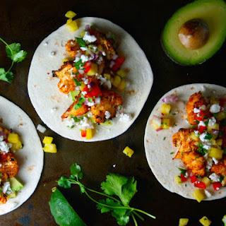 Crispy Roasted Cauliflower Tacos