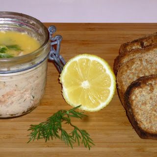 Hot Roasted and Smoked Potted Salmon