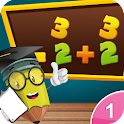 1st Grade Math-Number+Counting icon