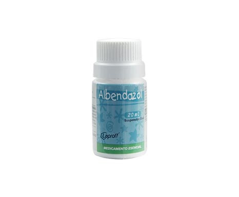 Albendazol 400mg x20mL Suspension 1 Sobre