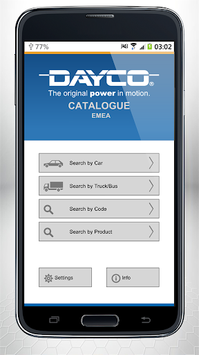 Dayco – Catalogue EMEA