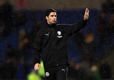Mikel Arteta ne sera pas remplacé à Manchester City
