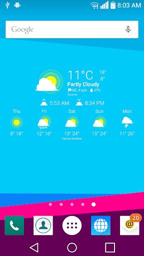 G4 Weather Icons for Chronus