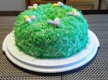 Coconut Snow Cake