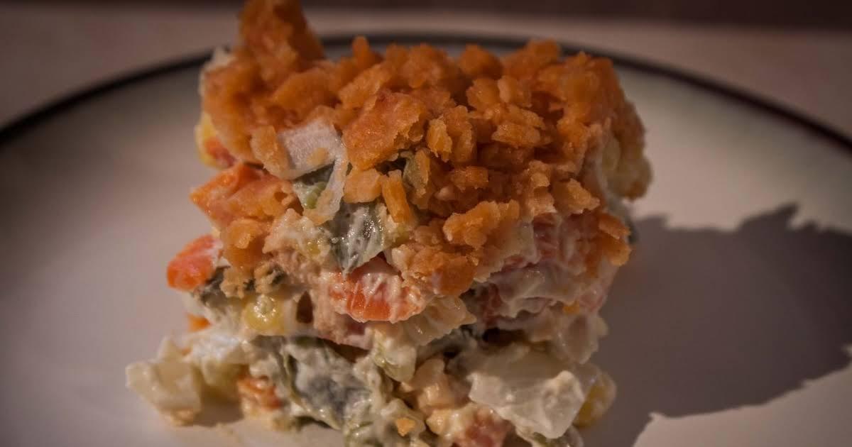 10 best vegetable casserole ritz crackers recipes