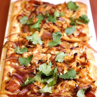 BBQ Chicken Flatbread Pizza Recipe