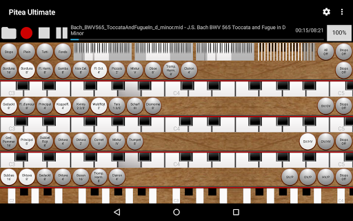 玩音樂App|Pitea Ultimate - Church Organ免費|APP試玩