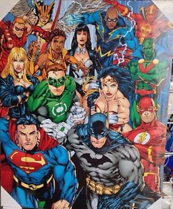 affiche super-héros