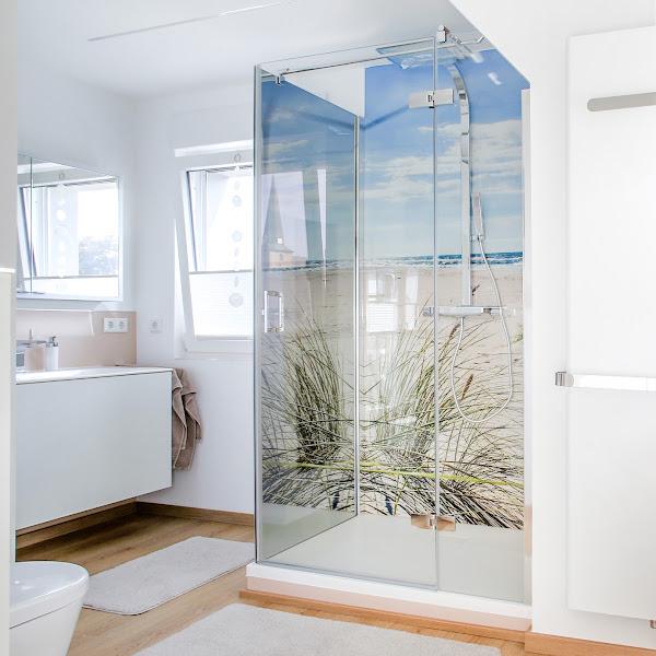 Teilsaniert: Altes Bestandsbad wird komfortables Designbad