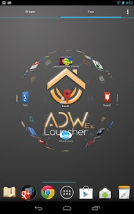 ADWLauncher 1 EX Screenshot